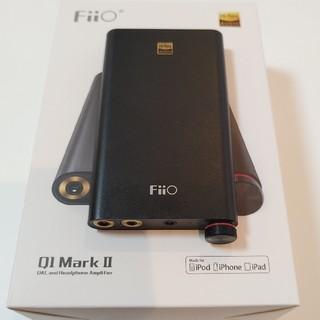 ソニー(SONY)のヘッドフォンアンプ FiiO Q1 Mark II(アンプ)