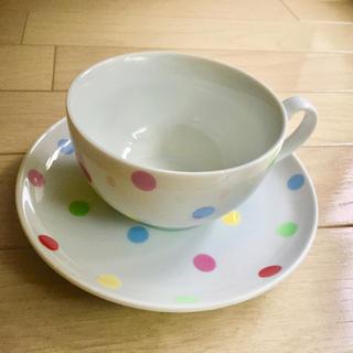 キャスキッドソン(Cath Kidston)のキャスキッドソン 水玉 ティーカップ ソーサー セット カップ 食器(食器)