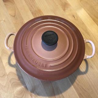 ルクルーゼ(LE CREUSET)のル・クルーゼ ココットロンド20cm(鍋/フライパン)