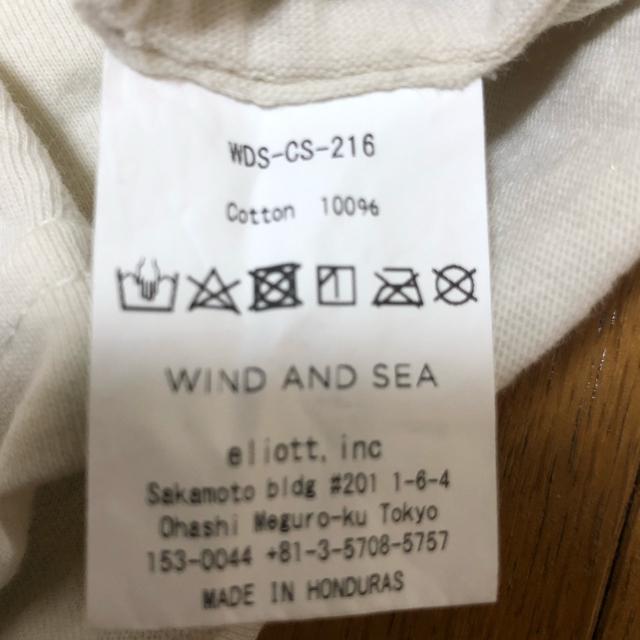 Supreme(シュプリーム)のWIND AND SEA Tシャツ Mサイズ レディースのトップス(Tシャツ(半袖/袖なし))の商品写真