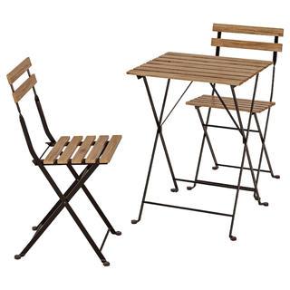 イケア(IKEA)のIKEA 外用テーブル、チェア(ダイニングテーブル)