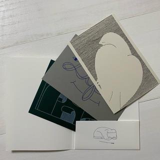 ミナペルホネン(mina perhonen)の【非売品】ミナペルホネン《つづく展》ポストカード 3枚セット(ノベルティグッズ)