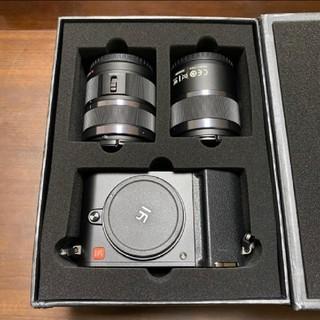 Yi M1 ミラーレス一眼カメラ 2000万画素 ズームレンズキット