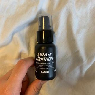 ラッシュ(LUSH)の艶肌ドロップ LUSH GREASELIGHTNING(美容液)