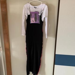 マックハウス(Mac-House)の新品☆Tシャツサロペットandサコッシュセット○130(パンツ/スパッツ)