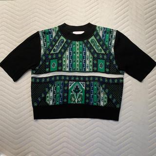 マメ(mame)のmame2020aw サイズ2(ニット/セーター)