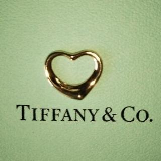 ティファニー(Tiffany & Co.)のティファニー  オープンハート 750K18 ペントップ(チャーム)