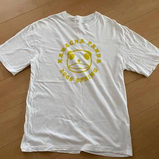 キリン(キリン)の生茶パンダ Tシャツ(白・L) ノベルティ(Tシャツ/カットソー(半袖/袖なし))