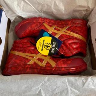 アシックス(asics)の本日終了 アシックス 安全靴 限定カラー REDHOT 26.0cm(スニーカー)