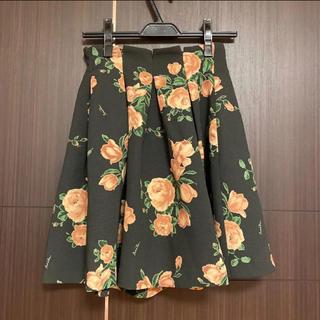 ノエラ(Noela)のノエラ♡花柄フレアスカート 美品(ひざ丈スカート)