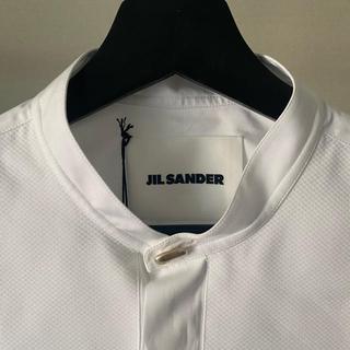 Jil Sander - JIL SANDER 20ss ノーカラーシャツ