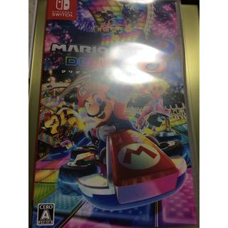 Nintendo Switch - マリオかート8DX switch ソフト