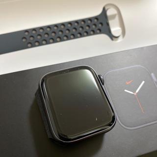 アップルウォッチ(Apple Watch)のApple Watch Nike Series 5(GPSモデル)ブラック(腕時計(デジタル))