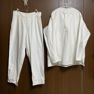 COMOLI - 【デッドストック新品未使用】ソ連軍 ロシア軍 スリーピングシャツ 、パンツセット