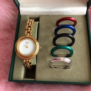 Gucci - GUCCI チェンジベゼル 腕時計