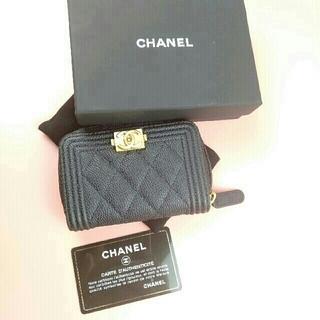 シャネル(CHANEL)のCHANEL シャネル カードケース ボーイシャネル(コインケース)