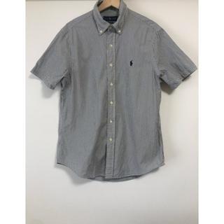 ラルフローレン(Ralph Lauren)のラルフローレン 半袖ストライプシャツ Mサイズ(ポロシャツ)