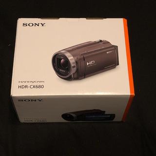 SONY - 【新品】 ソニー デジタルHDビデオカメラレコーダー HDR-CX680ブラウン