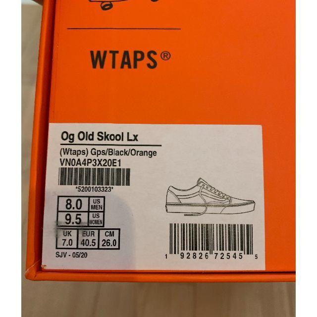 VANS(ヴァンズ)の新品未使用 wtaps vans ダブルタップス 26cm メンズの靴/シューズ(スニーカー)の商品写真