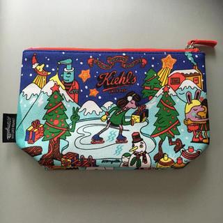 Kiehl's - Kiehls キールズ ポーチ -クリスマス-