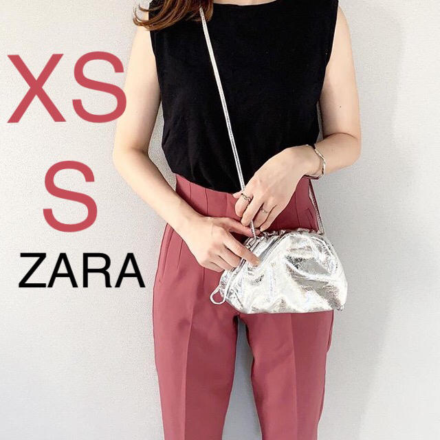 ZARA(ザラ)のZARA ザラ ハイウエストパンツ レディースのパンツ(カジュアルパンツ)の商品写真
