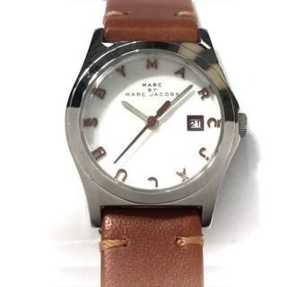 マークバイマークジェイコブス(MARC BY MARC JACOBS)のマークジェイコブス 腕時計 MBM9001 白(腕時計)
