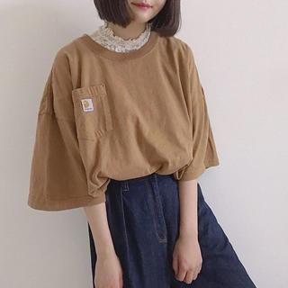 carhartt - Carhartt Tシャツ Oiled Walnut Heather ブラウン