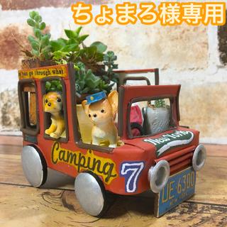ちょまろさま専用 リメ缶トラック(ワンコ宅急便)(その他)