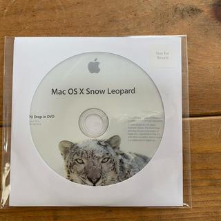 マック(Mac (Apple))のMac OS X Snow Leopard  インストールディスク(PC周辺機器)