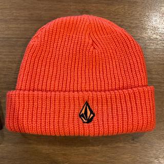 volcom - VOLCOM ボルコム ニット帽 オレンジ