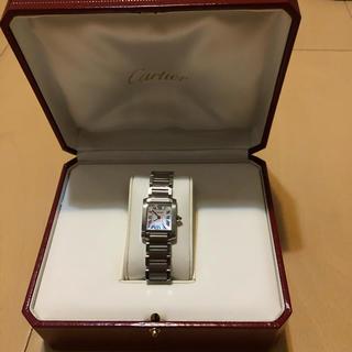 Cartier - カルティエ タンクフランセーズSMピンクシェル
