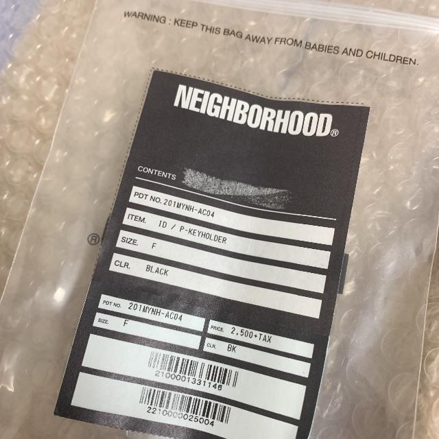 NEIGHBORHOOD(ネイバーフッド)の即購入OK 黒 ネイバーフッド キーホルダー P-KEYHOLDER メンズのファッション小物(キーホルダー)の商品写真