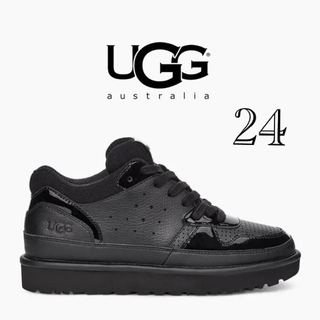 アグ(UGG)の新品未使用 UGG スニーカー ブラック 24(スニーカー)