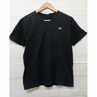 LACOSTE - ラコステ Tシャツ Mサイズ ロゴあり