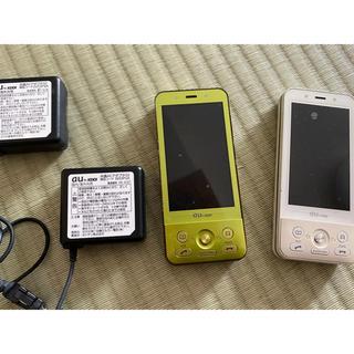 エーユー(au)のガラケ中古 SA002(携帯電話本体)