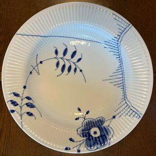 ロイヤルコペンハーゲン(ROYAL COPENHAGEN)のロイヤルコペンハーゲン  ブルーフルーテッドメガ 32cm大皿(食器)