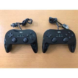 ウィー(Wii)の【美品】Wii Classic Controller PRO(その他)