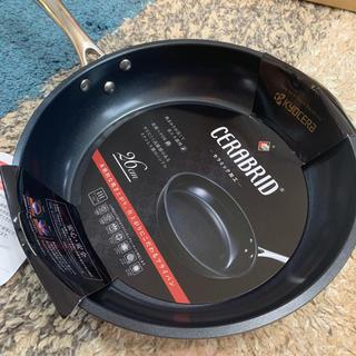 キョウセラ(京セラ)のCERABRID フライパン premium Black 26cm(鍋/フライパン)