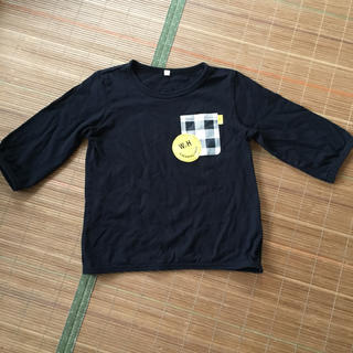 ベルメゾン(ベルメゾン)の千趣会 七分袖Tシャツ 120センチ(Tシャツ/カットソー)