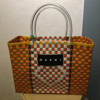Marni - マルニ 新品未使用 ピクニックバッグ大 フラワーカフェ