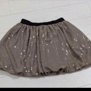 スコットクラブ(SCOT CLUB)のメトリーゼ スパンコール スカート(ミニスカート)