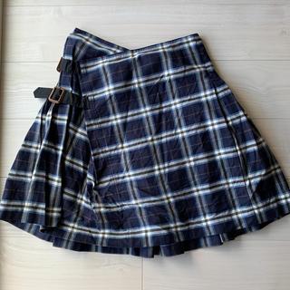 ヴィヴィアンウエストウッド(Vivienne Westwood)のviviennewestwood スカート プリーツ チェック(ミニスカート)