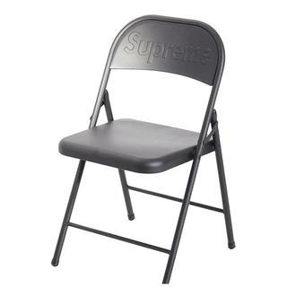 """Supreme - """"SUPREME """" 2020AW Metal Folding Chair 黒"""
