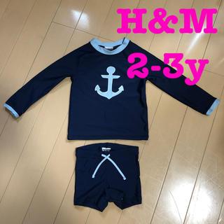 エイチアンドエム(H&M)のH&M キッズ用 長袖水着(水着)
