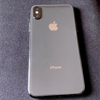 Apple - 【値段交渉OK】SIMフリー iPhoneX 64G ブラック 極美品