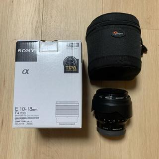 SONY - ソニー SONY E-mount E10-18mm F4 OSS SEL1018