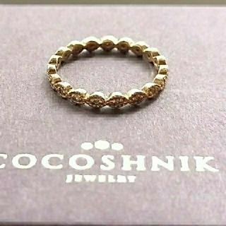 COCOSHNIK - ココシュニック フルエタニティ ダイヤモンドリング
