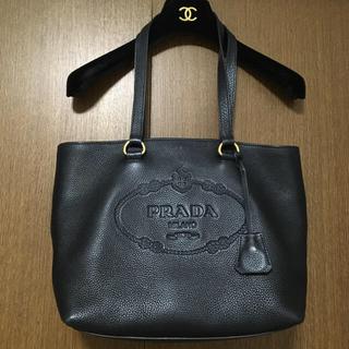 PRADA - 【超美品】PRADA ✨トートバッグ✨ギャランティカードあり✨黒