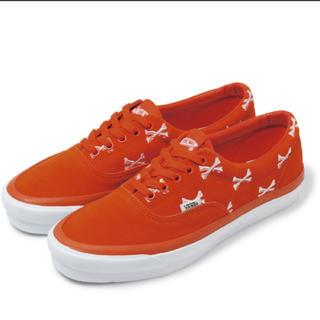 ダブルタップス(W)taps)のWtaps Vans OG Era LX orange us9 27(スニーカー)