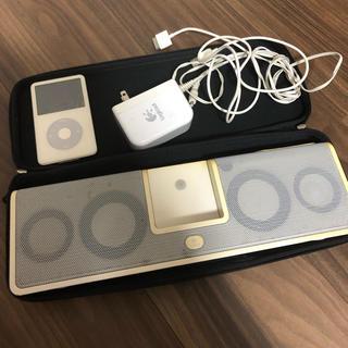Apple - レトロ!!Apple iPodとステレオセット